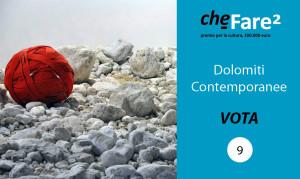 Vota Dolomiti Contemporanee n9 - premio cheFare2
